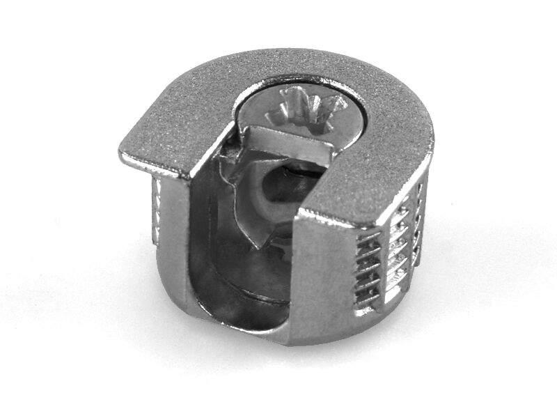 Cтяжка-полкодержатель, цинк, никелированное покрытие SE51. PRM0092