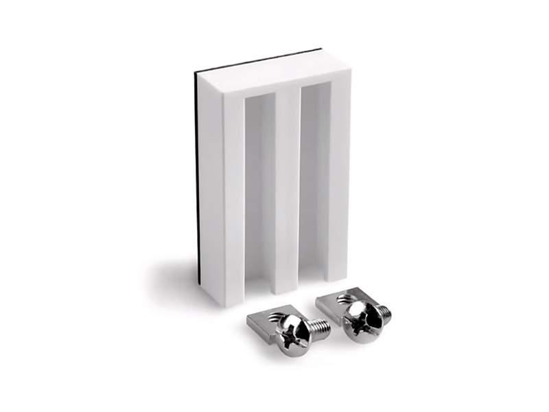 Самоклеящийся держатель для алюминиевых, деревянных, пластиковых жалюзи, ролло и плиссе, 2 шт в упаковке, белый. ESK11500