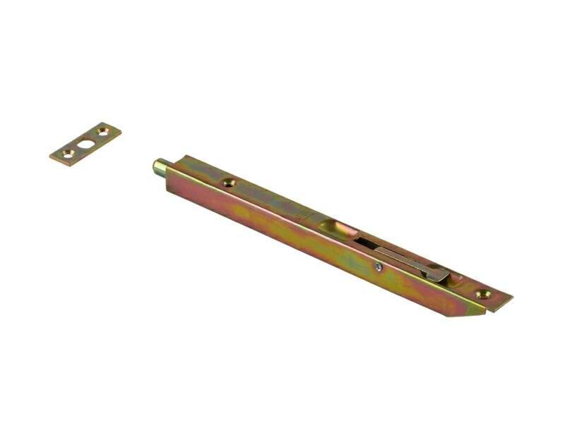 Шпингалет для деревянных дверей 200мм бихром. OTL0051.03