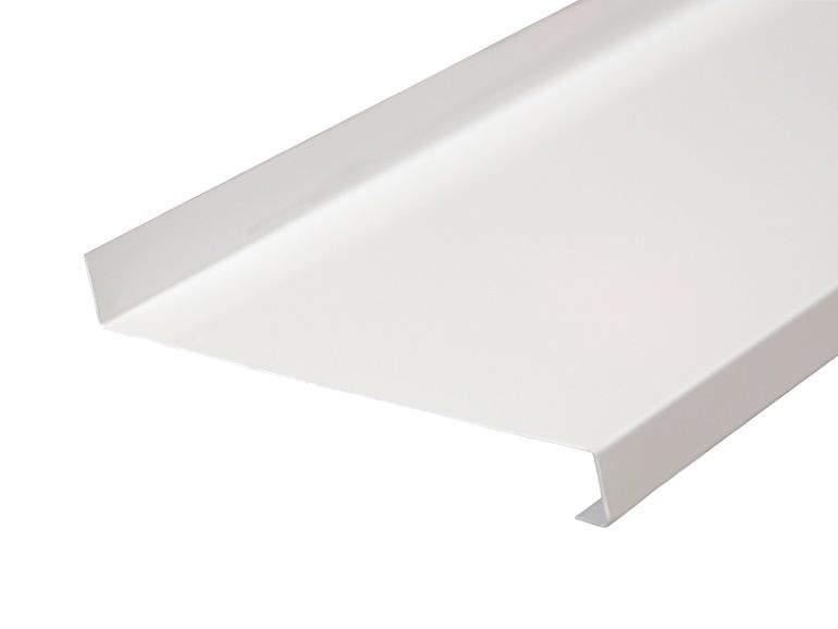 Отлив оконный Gutmann 240мм белый, 6м