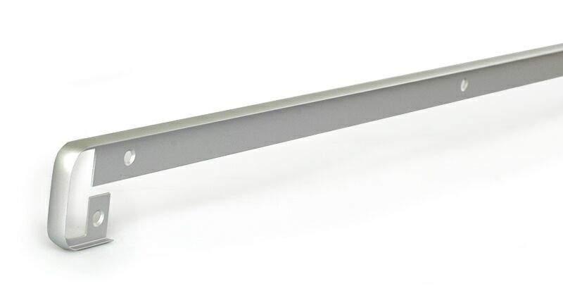 Соединительный профиль для столешницы R6 180 градусов, алюминий. ZDN0638.02/180