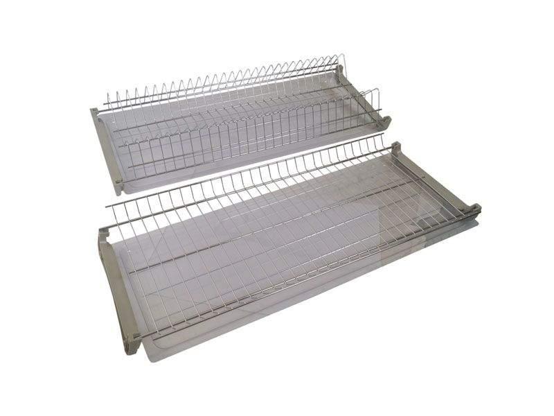 Комплект сушек для посуды FIRMAX база 700, ширина 665мм, без рамы (сушка для тарелок, сушка для чашек, поддон, саморезы). FRM5088.070