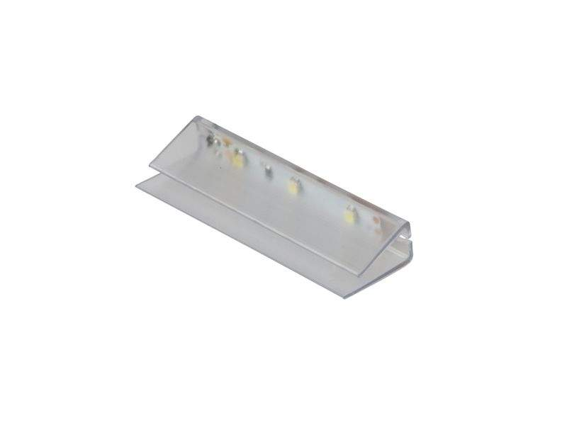 Светильник-клипса светодиодный P-KLIPS-TR-BZ, пластик, холодный свет. LED0001