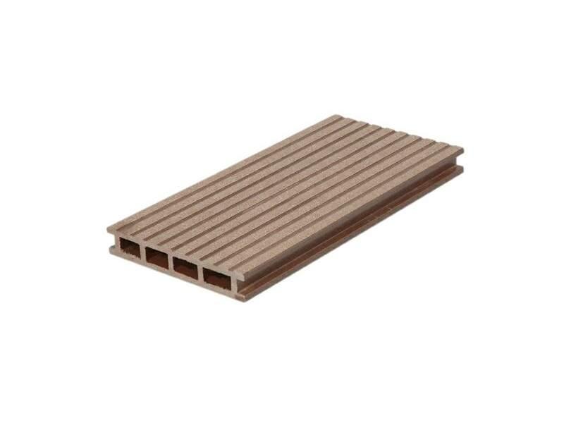 Террасный профиль Комфорт крупный вельвет с брашингом молочный шоколад 25х145х6000 мм (0.87 кв.м.). WDK5811.510