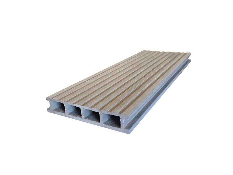 Террасный профиль Комфорт крупный вельвет с брашингом серый 25х145х6000 мм (0.87 кв.м.). WDK5811.511