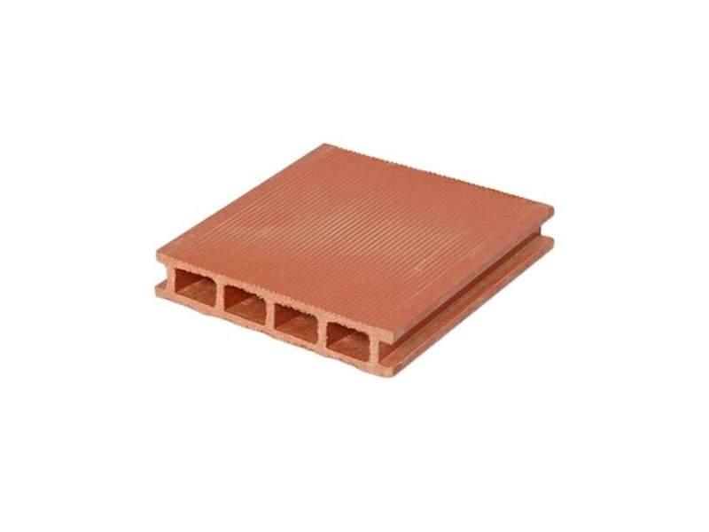 Террасный профиль Wooddecker Комфорт мелкий вельвет красная глина 25х145х6000 мм (0.87 кв.м.). WDK5855.502