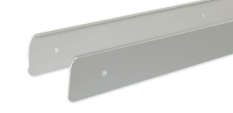 Торцевые накладки для столешницы, комплект левые+правые, R9 600мм, VEROY. VER0938.02