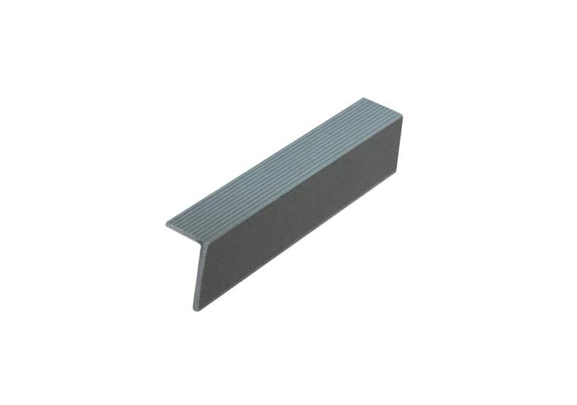 Угловой закрывающий L-профиль серый 40х60х4000 мм. WDK5820.511