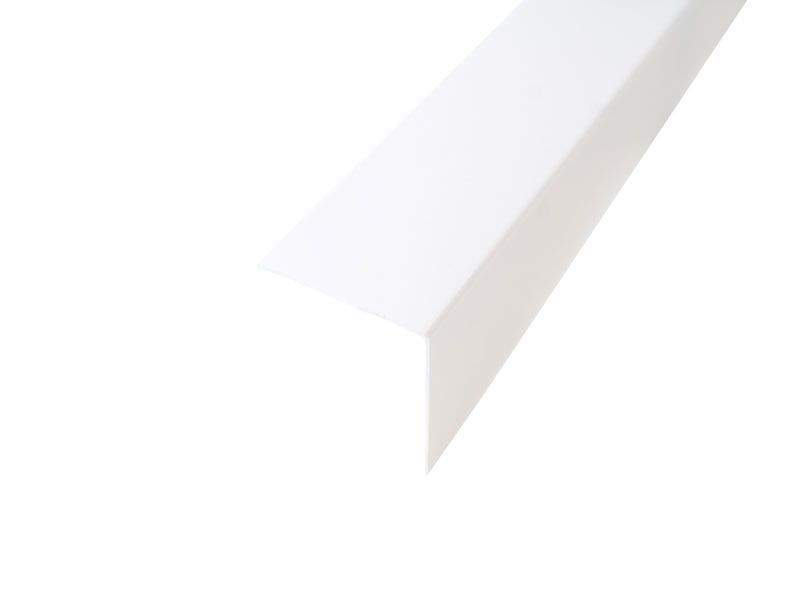 Уголок ПВХ Bauset TPL 40х40х0,8 белый матовый 3,0м