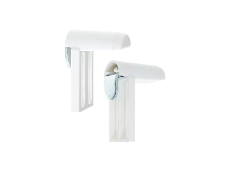 Универсальное крепление для алюминиевых, деревянных, пластиковых откидных окон, 2 шт в упаковке, белое. ESK13000
