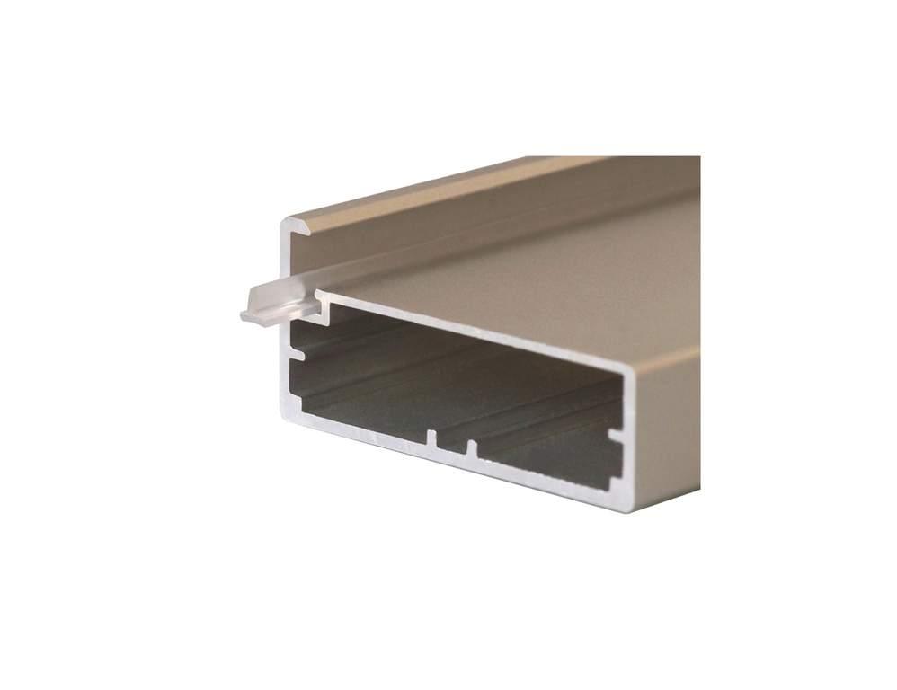 Уплотнитель ПП для алюм. профиля 45/4, вставка 4 мм, L=100 мм FIRMAX. FRM2830