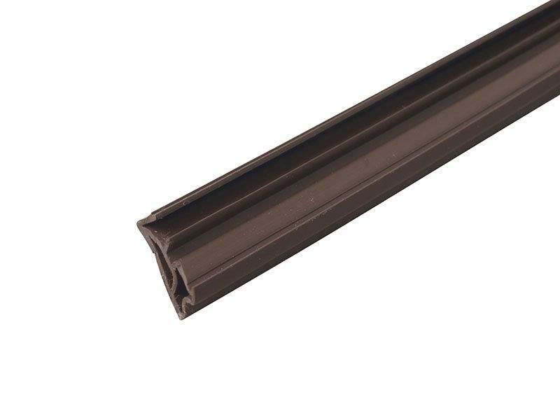 DEVENTER Уплотнитель для деревянных окон SV12 темно-коричневый