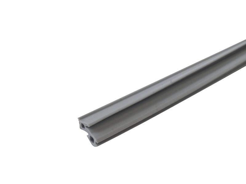 Уплотнитель для рамы и стеклопакета VEKA, серый. S7345G/2