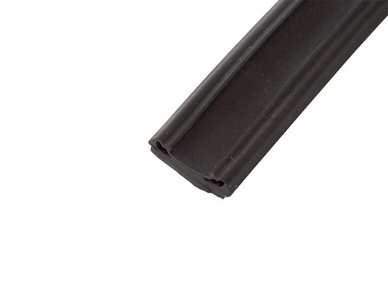 Уплотнитель для защиты пазов дверей, ЭПДМ (150м), черный. ALM770025A