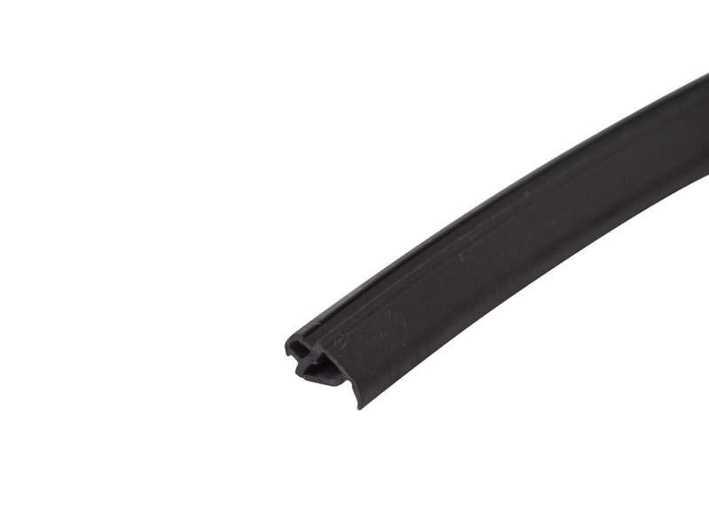 Уплотнитель притвора, ЭПДМ (400м), черный. ALM770001A