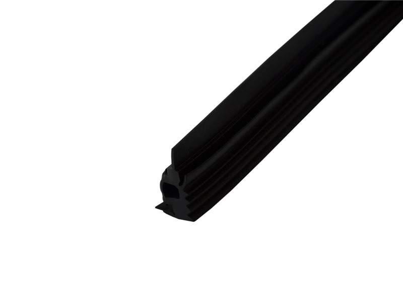 Уплотнитель ригеля, внутренний 10мм ЭПДМ, 150м, черный. ALM750210A