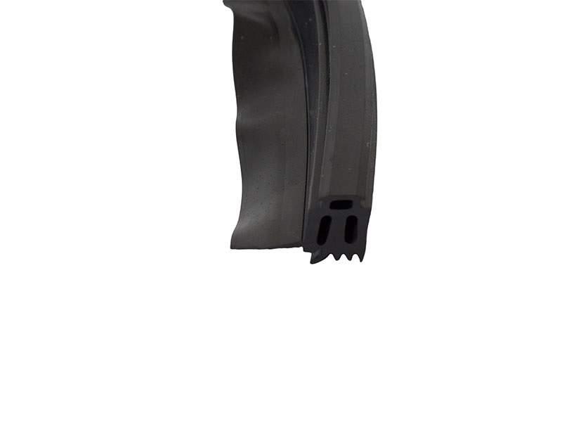 Уплотнитель стойки, внутренний 12мм ЭПДМ, 100м, черный. ALM750112A