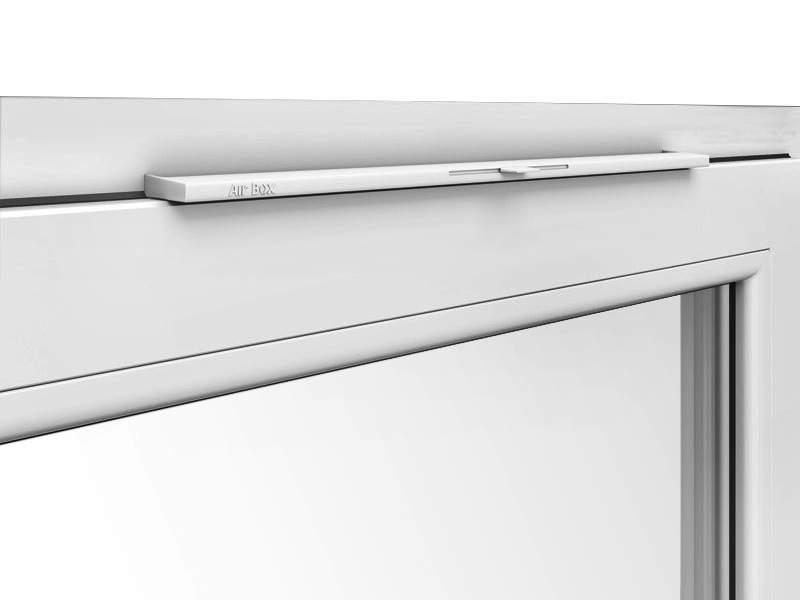 Приточный клапан вентиляционный Air-Box Comfort белый