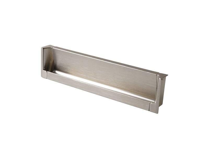 Врезная ручка 160мм, нержавеющая сталь/шлифованный никель. COS0018.2050.VR160