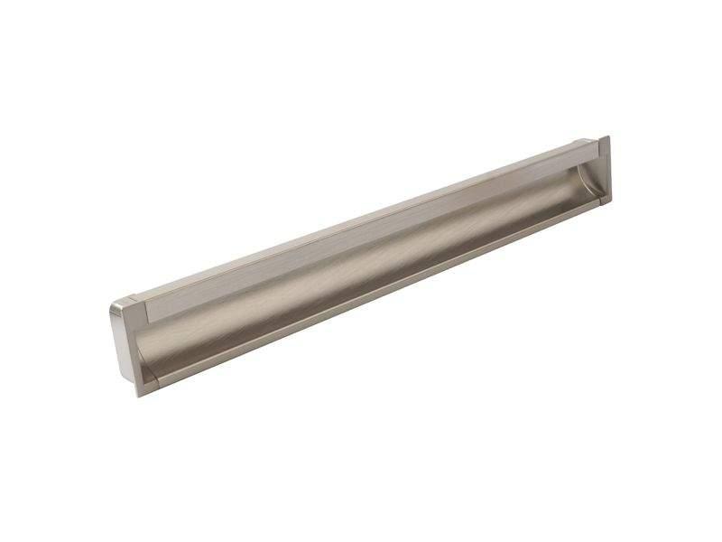 Врезная ручка 320мм, нержавеющая сталь/шлифованный никель. COS0020.2050.VR320