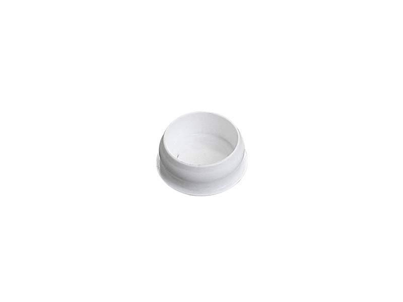 Заглушка декоративная, 10 шт в упаковке, белая. ESK20003