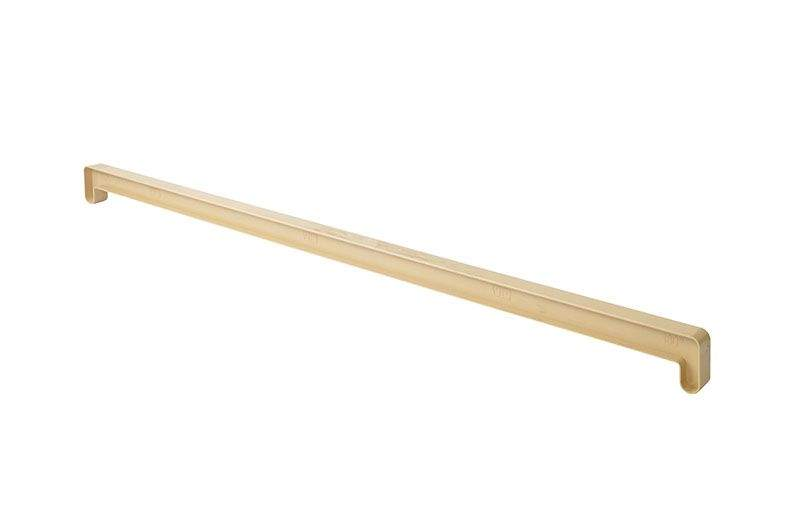 Соединительный профиль Витраж В-40, 150/180 градусов, 700 мм, натуральный и светлый дуб. ROS2314.46