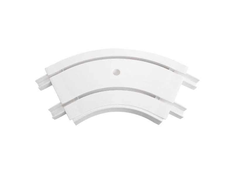 Закругление внутреннее для шины потолочной 2-х рядной 120 градусов, белое. ESK21202