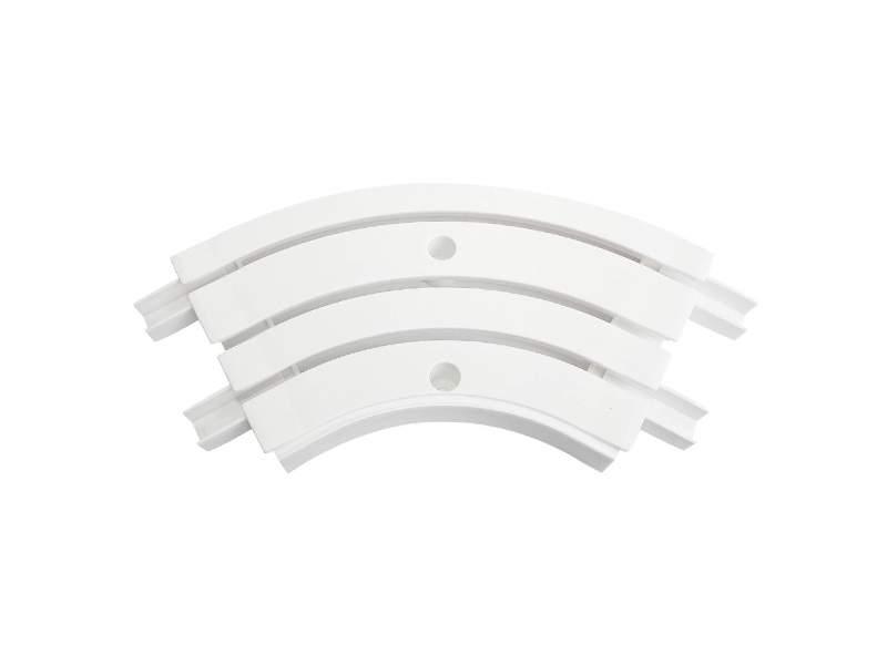Закругление внутреннее для шины потолочной 3-х рядной 120 градусов, белое. ESK21203