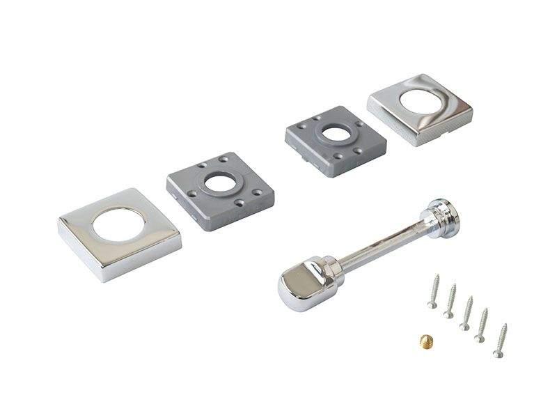 Завертка для сантехнических узлов, STV, квадратная, хром полированный. STV0015.15