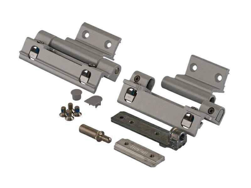Комплект петель поворотных Alu 540, серебро, R01.5 (1)