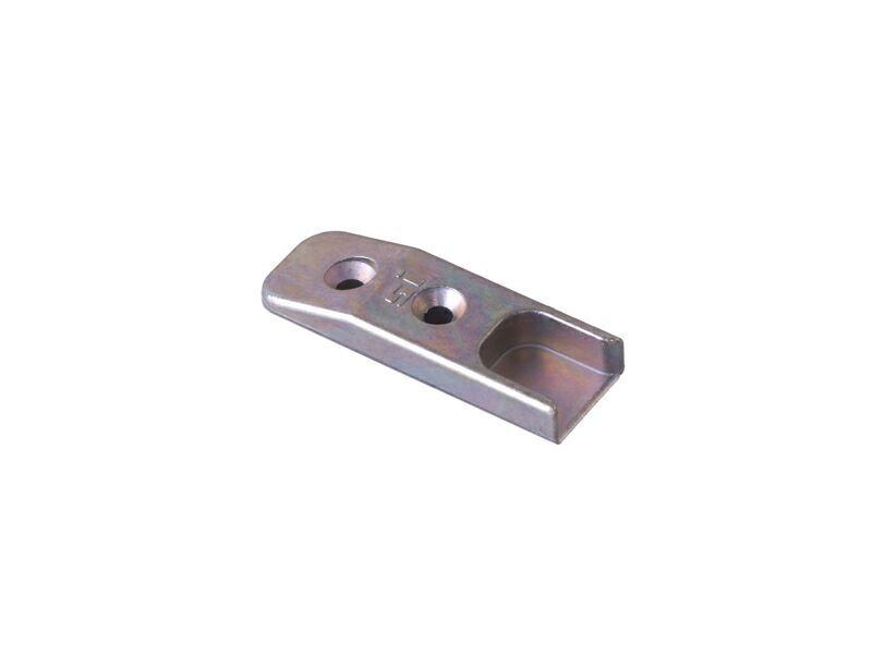 Планка ответная 56 мм A1362 для деревянных окон, глянцевый фальц 20 мм TS