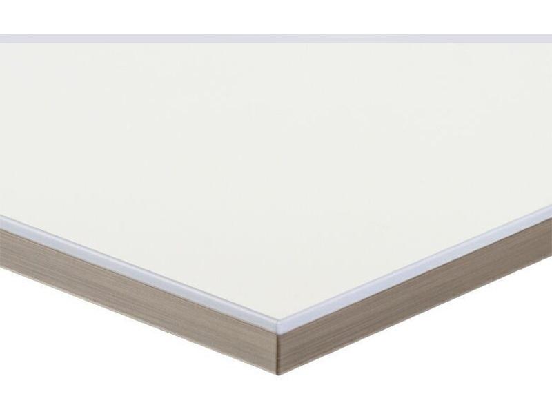 Полотно МДФ LUXE белый (Blanco) глянец, 1220*18*2750 мм, Т1