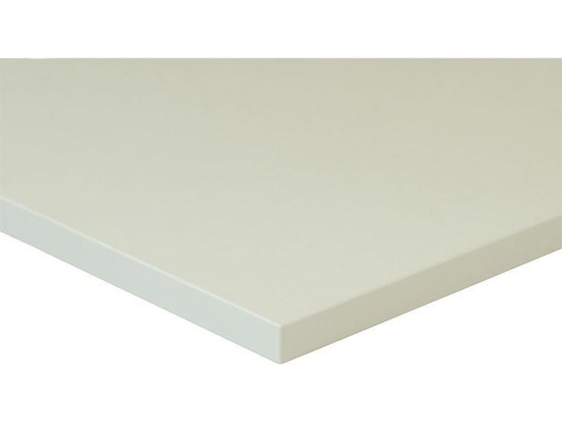 Плита МДФ LUXE белый Metaldeco (Blanco Metaldeco), 1220*18*2750 мм
