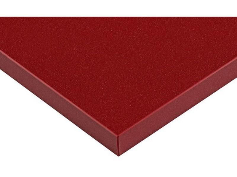 Плита МДФ LUXE бордо металлик (Bordo Pearl Effect) глянец, 1220*18*2750 мм