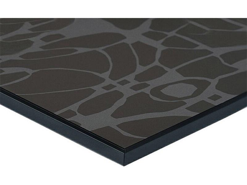 Плита МДФ LUXE деко черный (Deco Negro) глянец, 1220*18*2750 мм