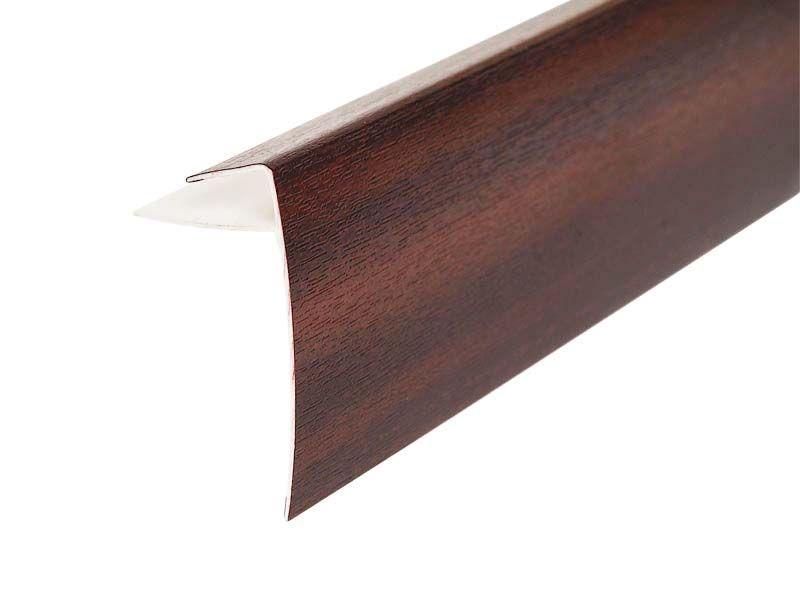 Профиль (F) конечный VPL 60 мм R 2065 021 махагон 6,0 м