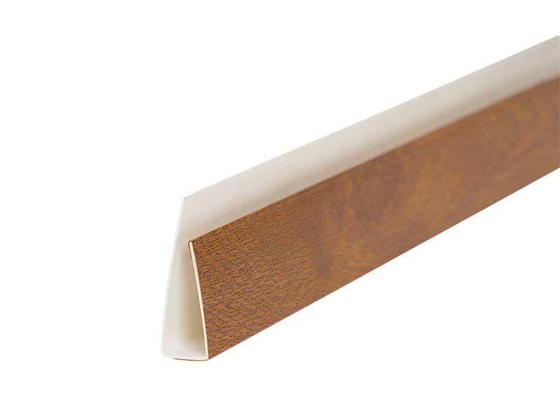 Профиль (L) начальный VPL 35х25 мм R 2178 001 золотистый дуб 6,0 м
