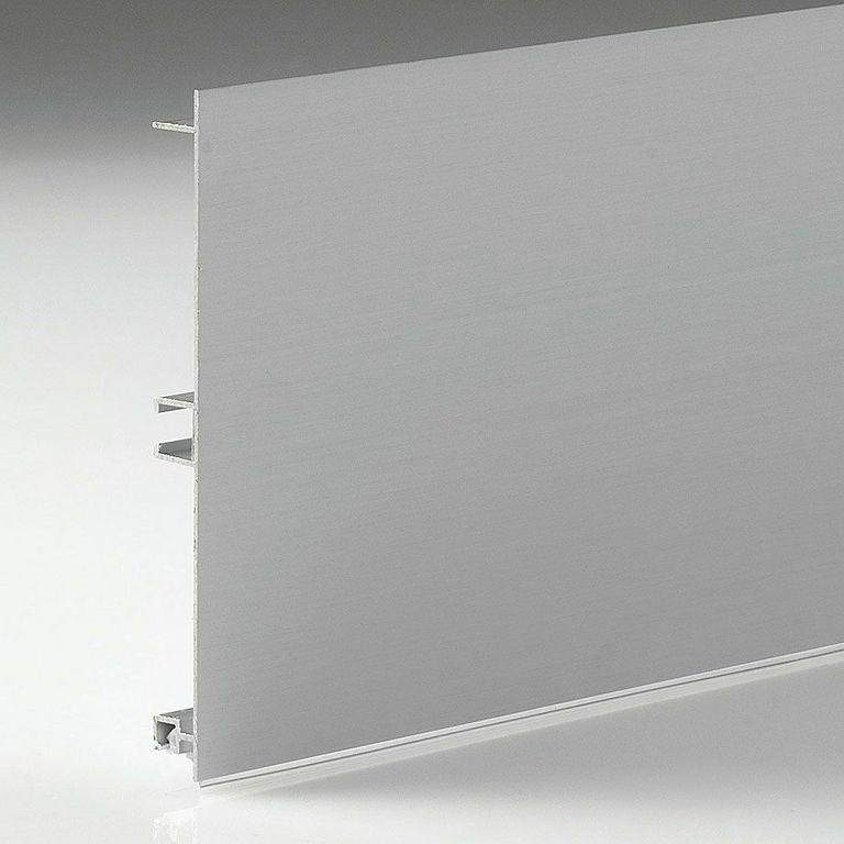 360 Цоколь кухонный, алюминиевый, Матовый 100мм L=4м FIRMAX