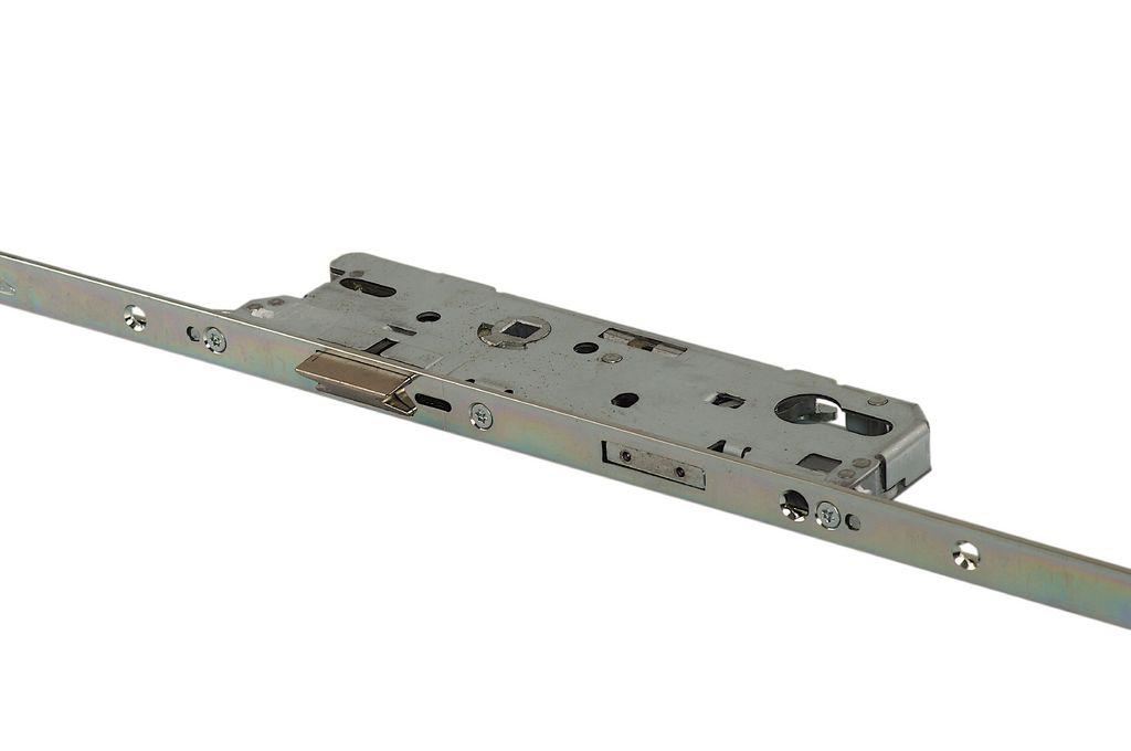 ACM6552DG4S0 Замок Maxbar №856 привод от ручки F16/55/92/8мм,4 роликовые цапфы, сереброудлиняемый