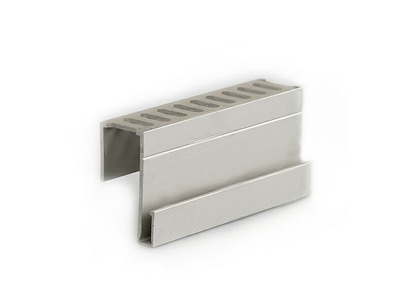 Алюминиевый   профиль для примыкания серебристый, 4 м
