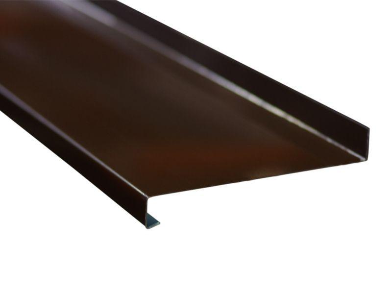 Отлив оконный BAUSET 280 мм коричневый
