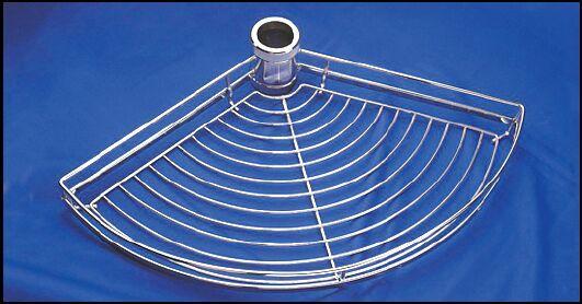 FIRMAX Полка для колонны сектор 120гр 595х385×65 металл хром