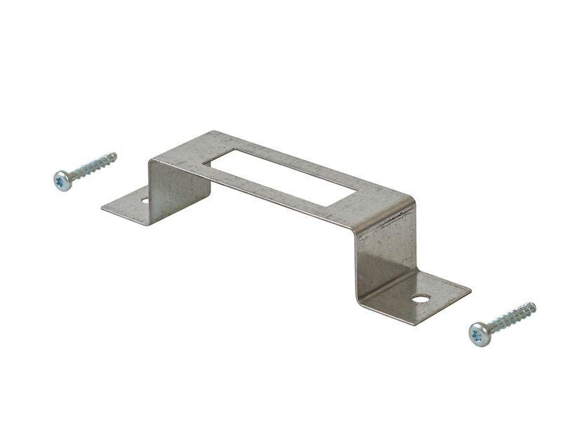 Монтажная скоба + 2 шурупа по бетону
