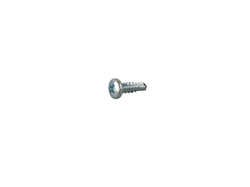 Firmax Шуруп c буром (саморез) 3,9×13, полукруглая головка оцинкованный