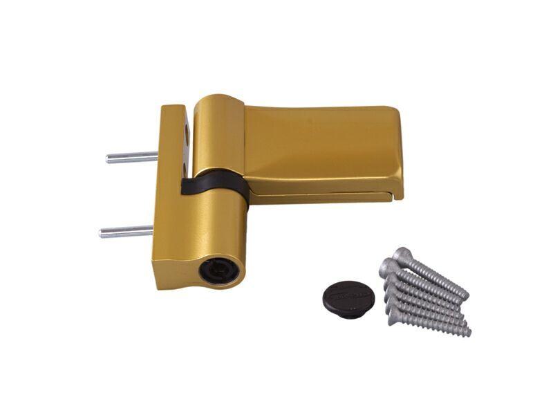 K570L0000 Петля Maxbar KT-V наплав 15-20мм, золото матовое