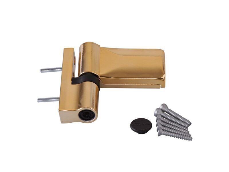 K570W0000 Петля Maxbar KT-V наплав 15-20 мм, золото глянцевое