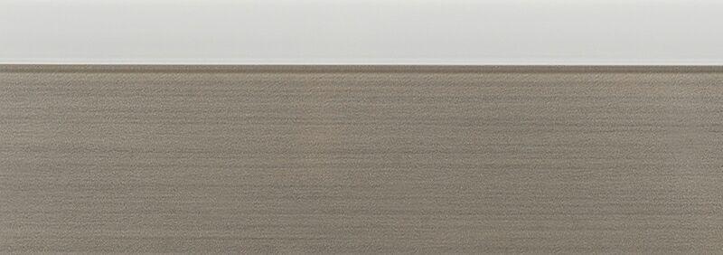 Кромка 3D белый глянец 23х1 мм, PMMA, двухцветная ALVIC