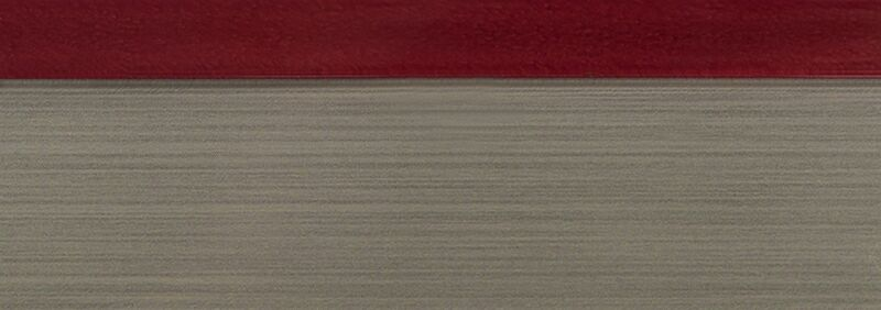 Кромка 3D бордо глянец 23х1 мм, PMMA, двухцветная ALVIC