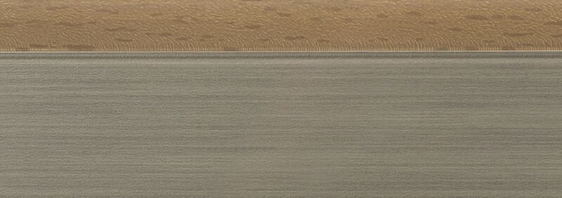Кромка 3D олива глянец 23х1 мм, PMMA, двухцветная ALVIC