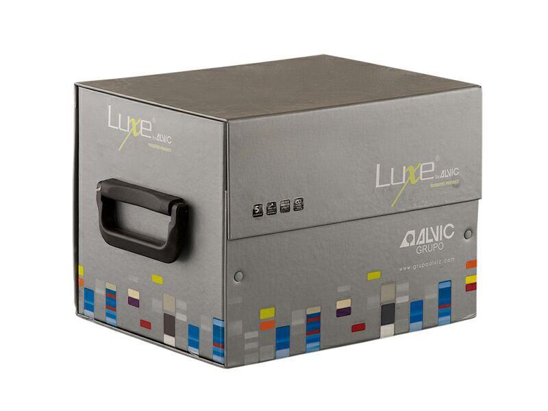 Комплект образцов №4 глянцевых плит LUXE 18*200*200 мм, новинки (8 шт.)
